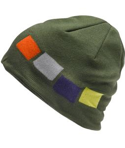 Foursquare Emblem Beanie Portland Pine