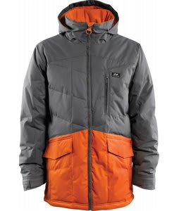 Foursquare Foreman Snowboard Jacket Cast Iron/Safety Orange