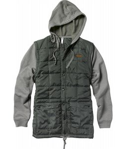 Foursquare Frame Zip Hoodie Portland Pine