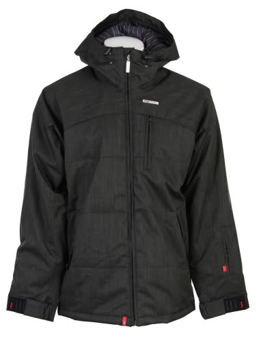 Foursquare Manfredi Jacket Black Dress Shirt