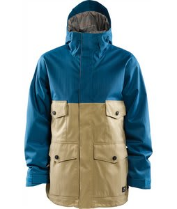 Foursquare Ply Snowboard Jacket Blue Print/Grain