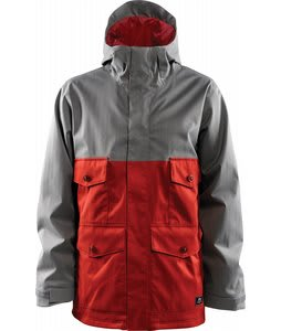 Foursquare Ply Snowboard Jacket Cast Iron/186 Red