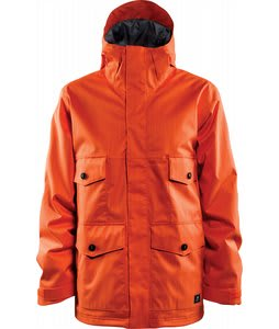 Foursquare Ply Snowboard Jacket Safety Orange