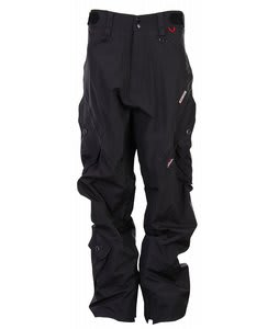 Foursquare Q Snowboard Pants Black