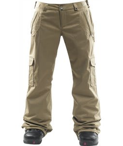 Foursquare Range Snowboard Pants Walnut