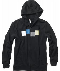 Foursquare Rig Zip Hoodie Blacktop