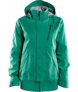 Foursquare Rotary Snowboard Jacket Emerald