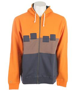 Foursquare Straight Stripe Hoodie Terra Cotta