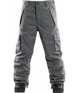 Foursquare Studio Snowboard Pants Cast Iron
