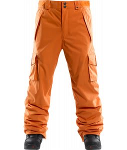 Foursquare Studio Snowboard Pants Safety Orange