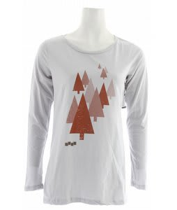 Foursquare Trees L/S T-Shirt Granite
