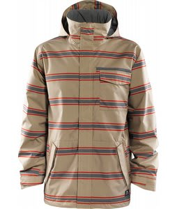 Foursquare Truss Snowboard Jacket Grain Draft Lines