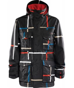 Foursquare Vise Snowboard Jacket Blacktop Large Format