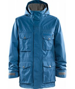 Foursquare Vise Snowboard Jacket Blue Print