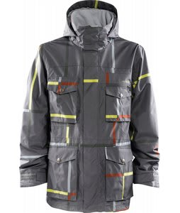 Foursquare Vise Snowboard Jacket Cast Iron Large Format