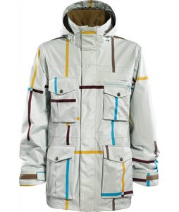 Foursquare Vise Snowboard Jacket Ice Large Format