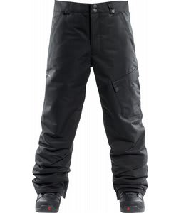 Foursquare Work Insulated Snowboard Pants Blacktop