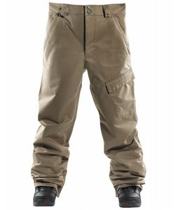Foursquare Work Snowboard Pants Walnut