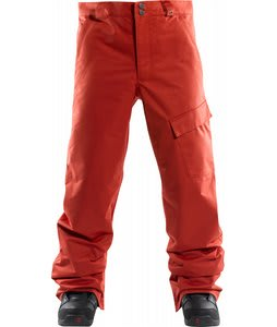 Foursquare Work Snowboard Pants 186 Red