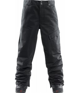 Foursquare Work Snowboard Pants Blacktop