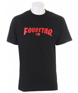 Fourstar High Speed T-Shirt Black