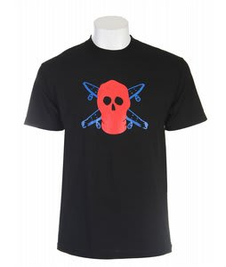 Fourstar Pirate Mask T-Shirt Black
