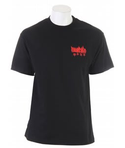 Fourstar Toxic T-Shirt Black