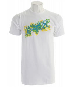 Fox Alarmed T-Shirt White