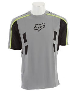 Fox Attack Bike Jersey Grey