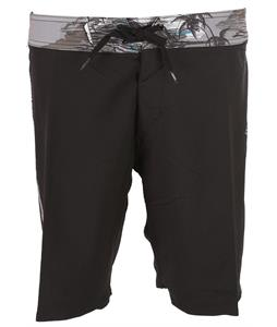 Fox Camino Boardshorts Black/White