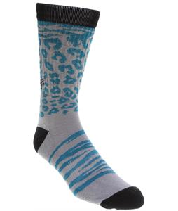 Fox Cheeter Socks Grey