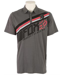 Fox Conclusion Polo Charcoal