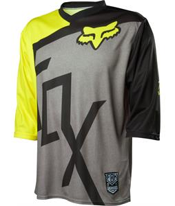 Fox Covert 3/4 Bike Jersey Heather Grey