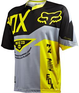 Fox Demo Bike Jersey Grey/Yellow