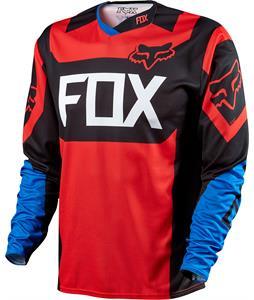 Fox Demo L/S Bike Jersey Blue/Red