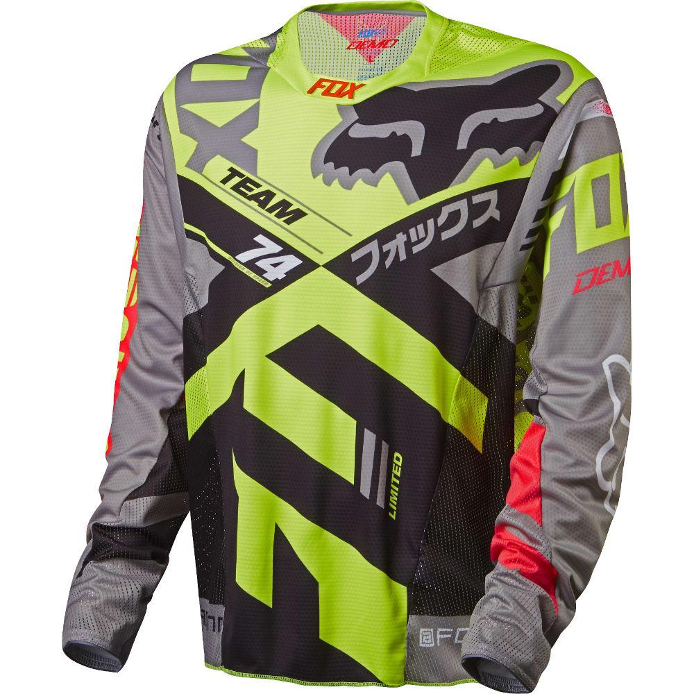 Fox Demo L/S Bike Jersey fx3deml04gr16zz-fox-bike-jerseys
