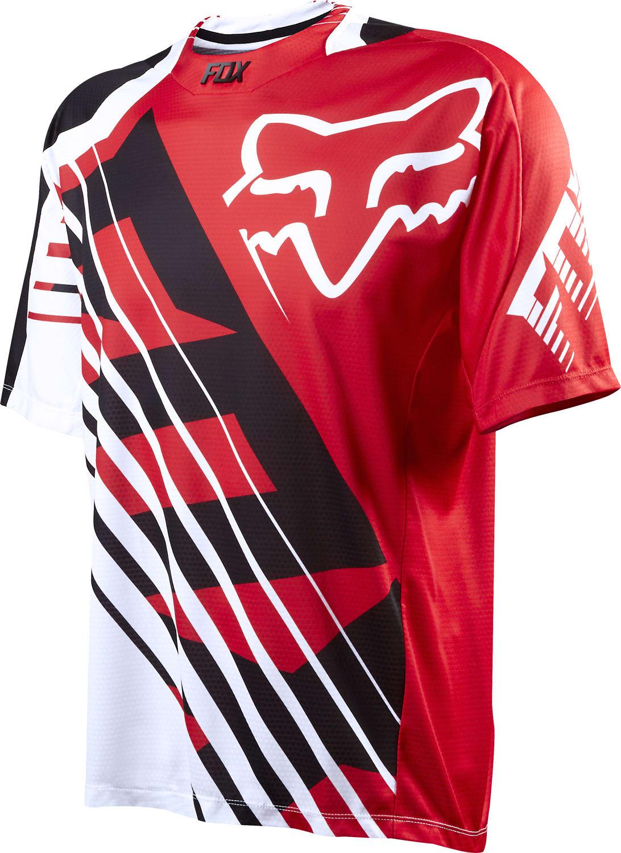 Fox Demo Savant Bike Jersey fx3dems04rd15zz-fox-bike-jerseys