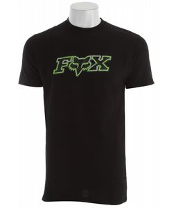 Fox Digitized T-Shirt Black