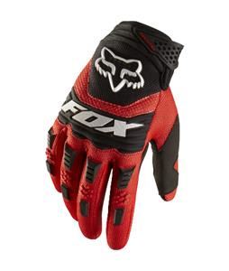 Fox Dirtpaw Bike Gloves Red