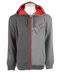 Fox Enigma Hoodie Heather Graphite