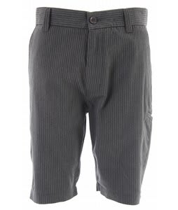 Fox Essex Pinstripe Slim Shorts Charcoal Heather