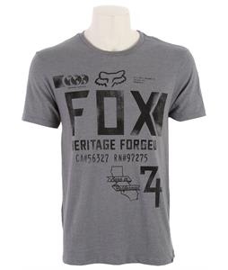 Fox Filibuster T-Shirt Heather Graphite
