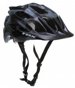 Fox Flux Bike Helmet Black/Camo