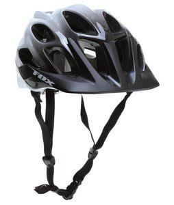 Fox Flux Bike Helmet Black/White