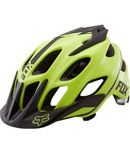 Fox Flux Bike Helmet Acid Green