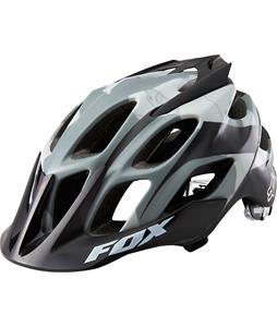 Fox Flux Bike Helmet Snow Camo