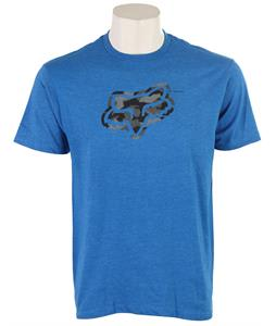 Fox Foe T-Shirt Heather Blue
