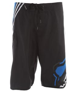 Fox Hashed Boardshorts Black