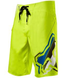 Fox Hashed Boardshorts Day Glo Yellow