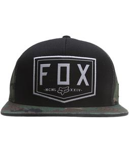 Fox Haste Cap Black